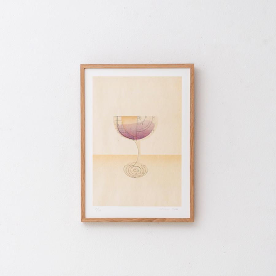 arche《glass of redwine》