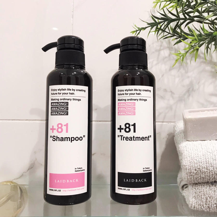 +81 Shampoo【LAIDBACKオリジナルシャンプー】