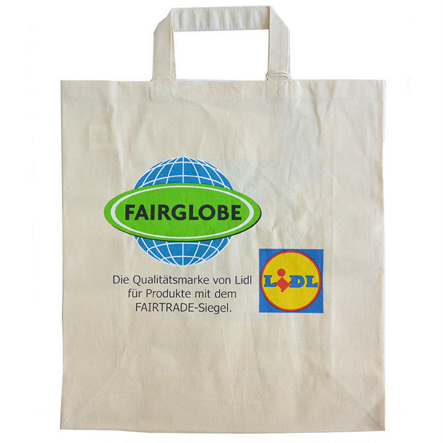"""LiDL"" fairtrade eco tote bag (gbk014)"
