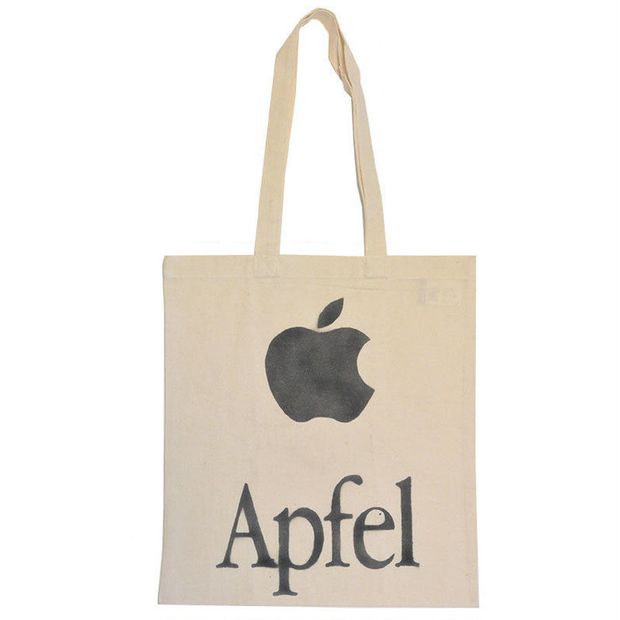 berlin stencil tote apple (gbk001d)