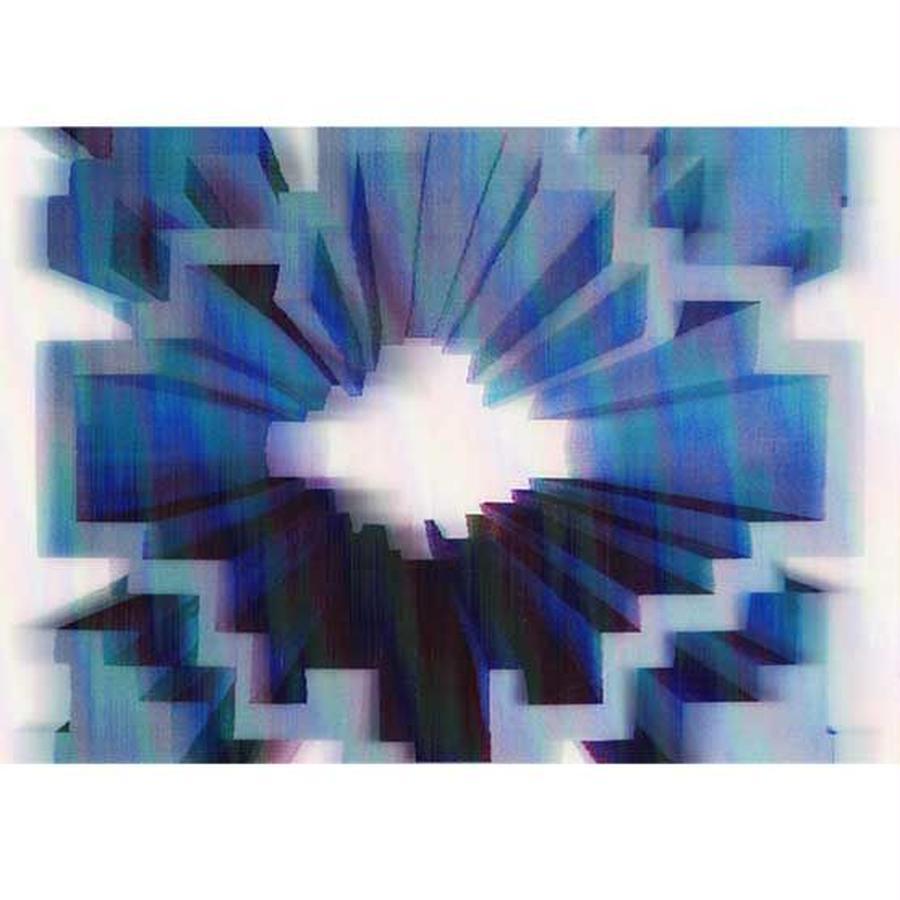 """""""L.M.kartenvertrieb""""geometry 3D postcard (glm3007)"""