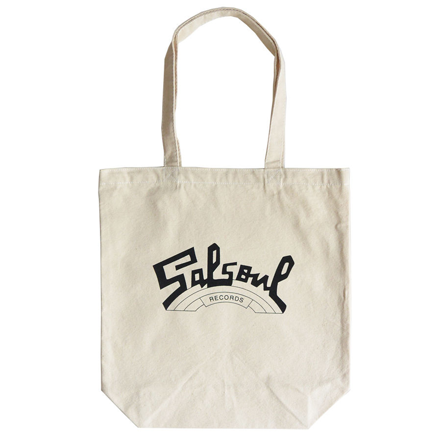 """Salsoul Records""/ Cotton Canvas Tote Bag / Natural (luz.sal.t)"