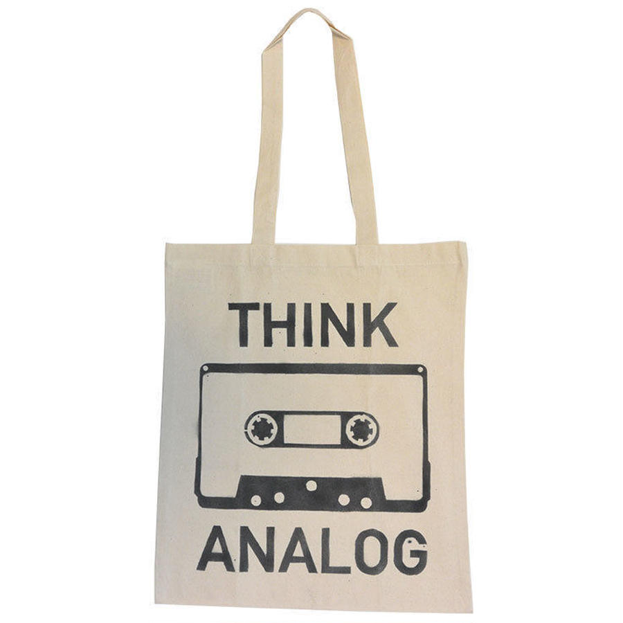 berlin stencil tote think analog (gbk001a)