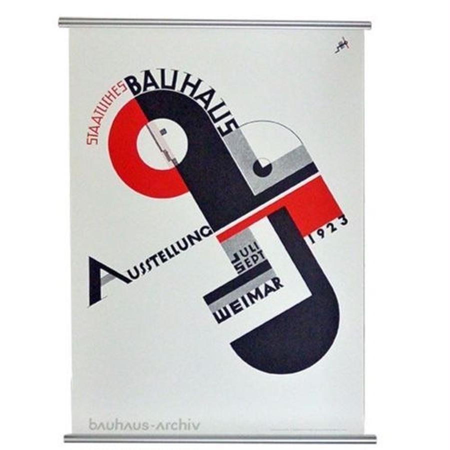 """Bauhaus Archive official poster """"Bauhaus-ausstellung 1923""""A (gp002)"""