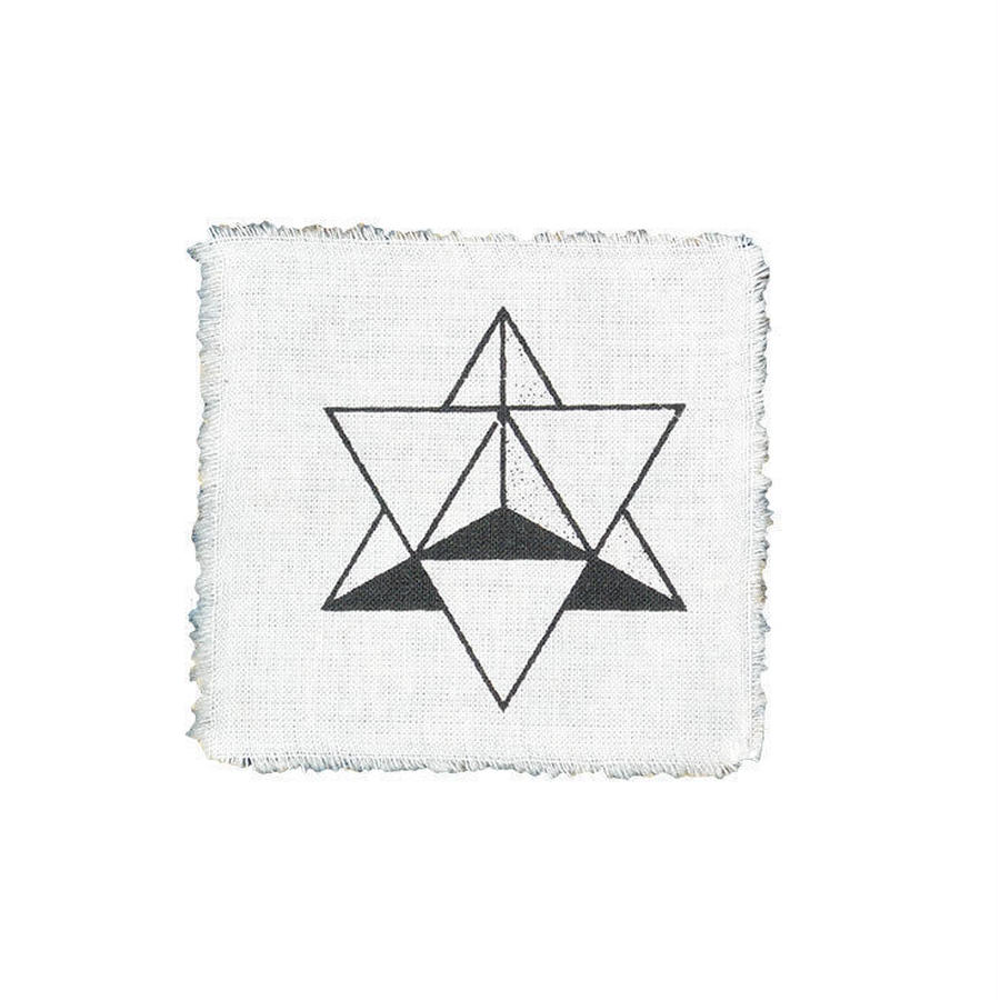 Θhpion Esoteric Tattoo star tetrahedron patch (gw002)