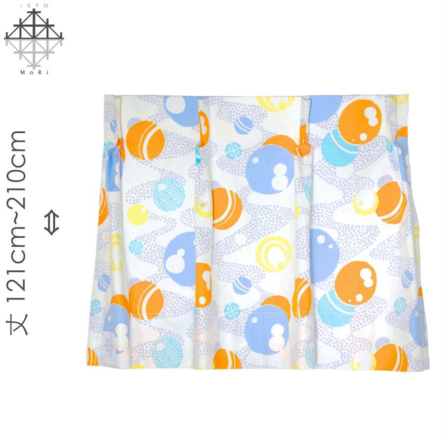 """【MoRi MoRi CURTAIN】 オーダーカーテン:"""" 水玉 """" 巾 96cm~190cm・丈121cm~210cm(遮光裏地付)"""