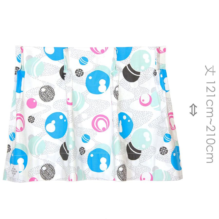 """【MoRi MoRi CURTAIN】 オーダーカーテン:"""" 水玉 """" 巾191cm~285cm・丈121cm~210cm"""