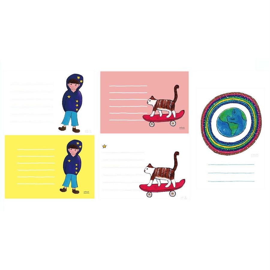 「Painter Song」シリーズ・ ポストカードセット(5枚)