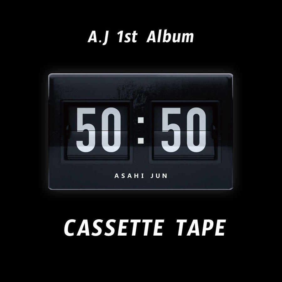 "A . J  1st Album "" 50 : 50 ""       Domestic (Japan) shipping ONLY"