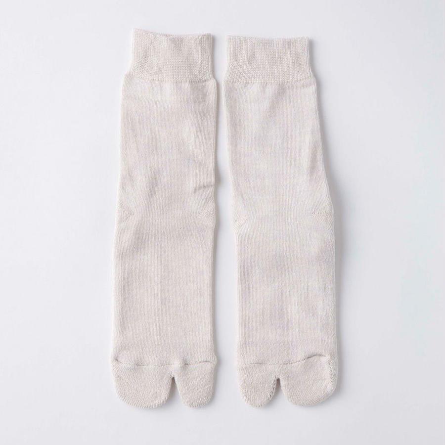 足袋ソックス 【シルク x オーガニックコットン】