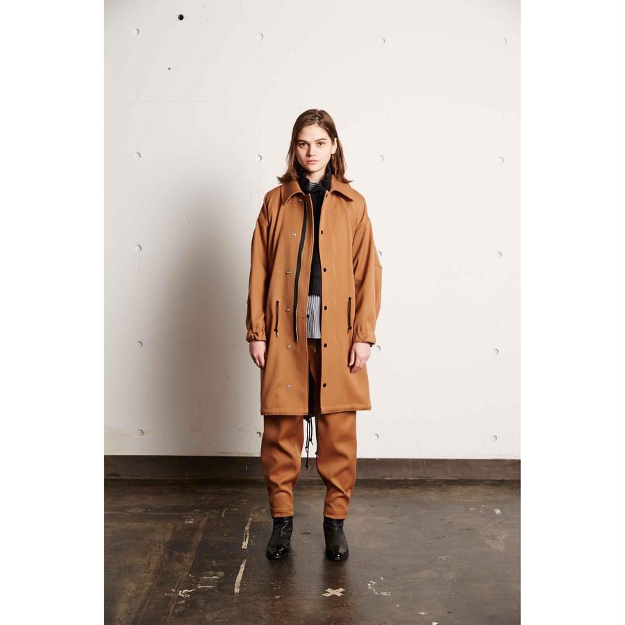 DOUBLE CLOTH SOUTIEN COLLAR FIELD COAT