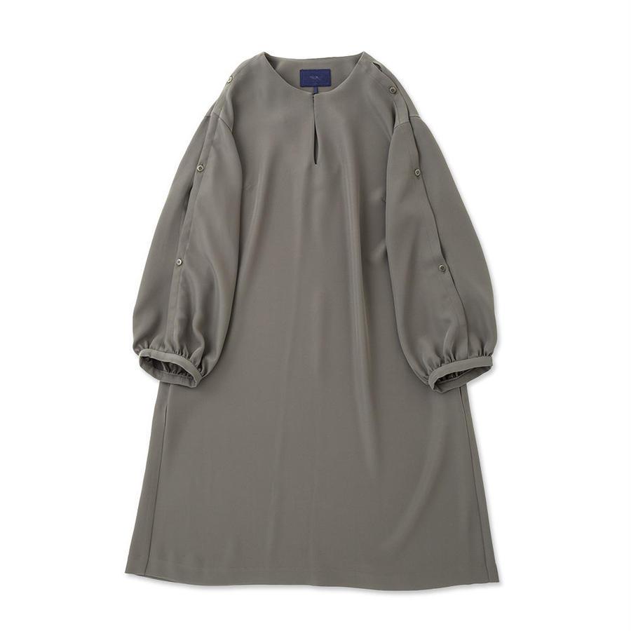 PA7SS-OP01  GEORGETTE SLIT DRESS