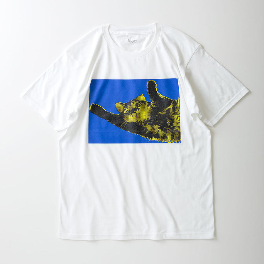 CA7AW-JE21B KATE TEE - ROLL OVER 1(BLUE&YELLOW)