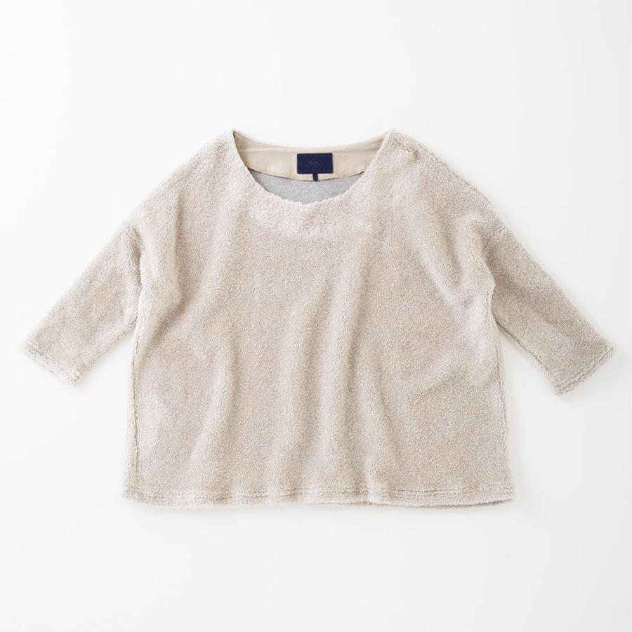 PA7AW-JE03 WIDE PULLOVER - POODLE