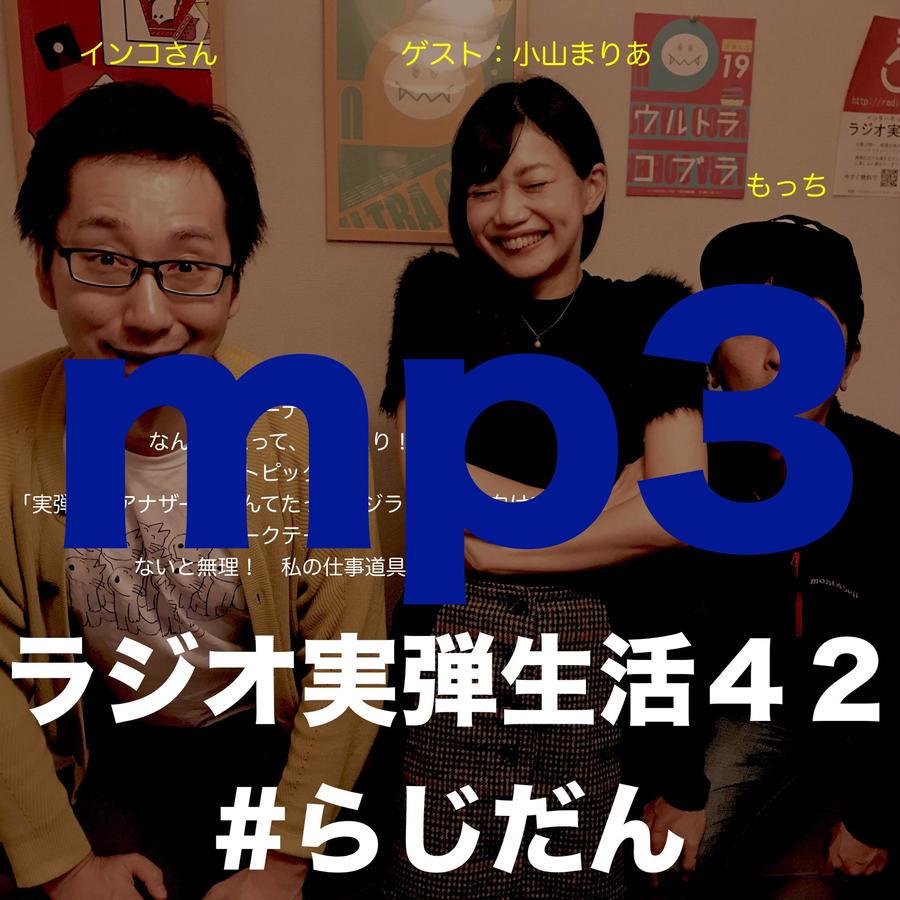 【スマホ環境しかない(PC、Mac無し)方に推奨】ラジオ実弾生活42 インコさん・もっち・小山まりあ.mp3