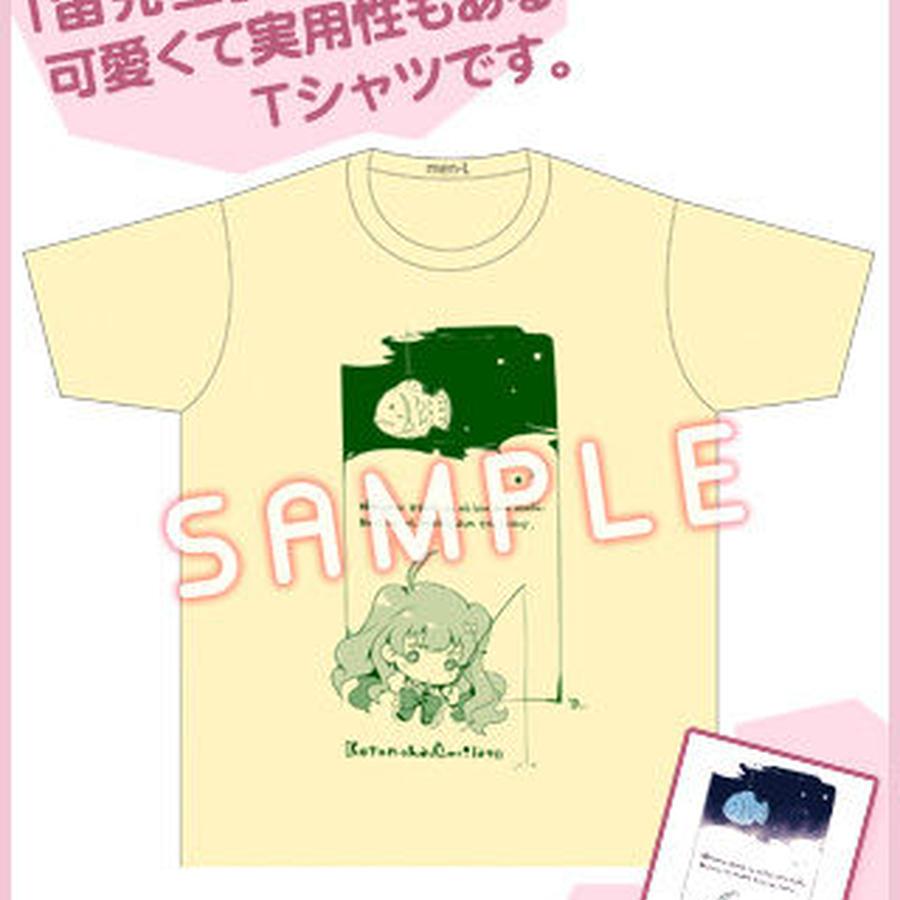ことのはアムリラート「たいやきハンターRuka」Tシャツ(ポストカード付き)