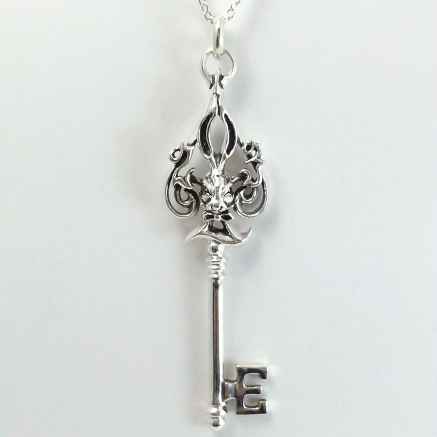 Spade Bunny Key Pendant