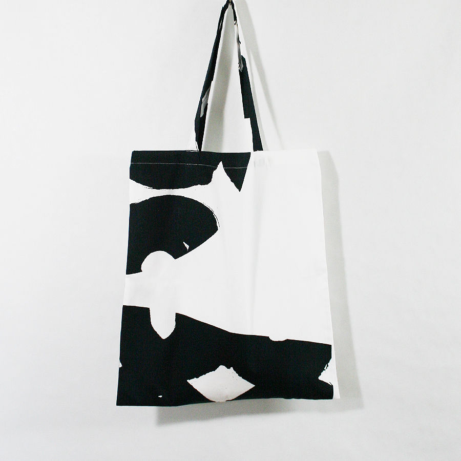 "TOTE BAG ""Bird White"""