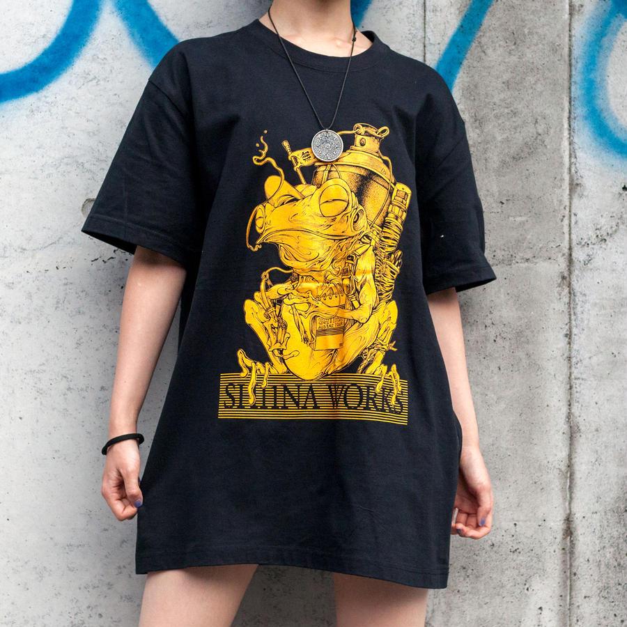 SH11NA Australia & New Zealand tour T-shirt (Yellow)