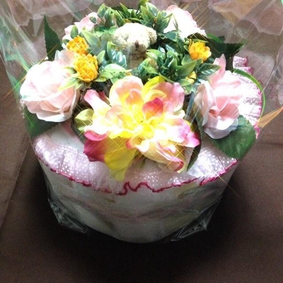 ダイパーケーキ(おむつケーキ)