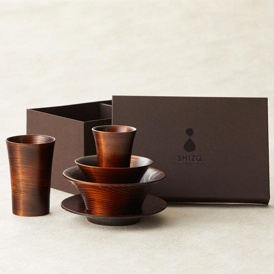 SHIZQ  Kame Tableware Set