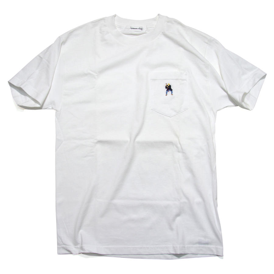 """A Blind Man 2003"" Pocket T-shirts by Steven Choy"
