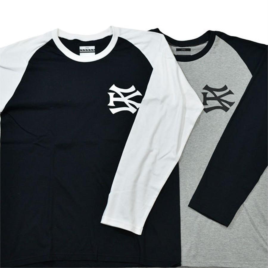 SH*T KICKER / SK51 LOGO RAGLAN SLEEVE / ロングスリーブTシャツ 【SK-028】