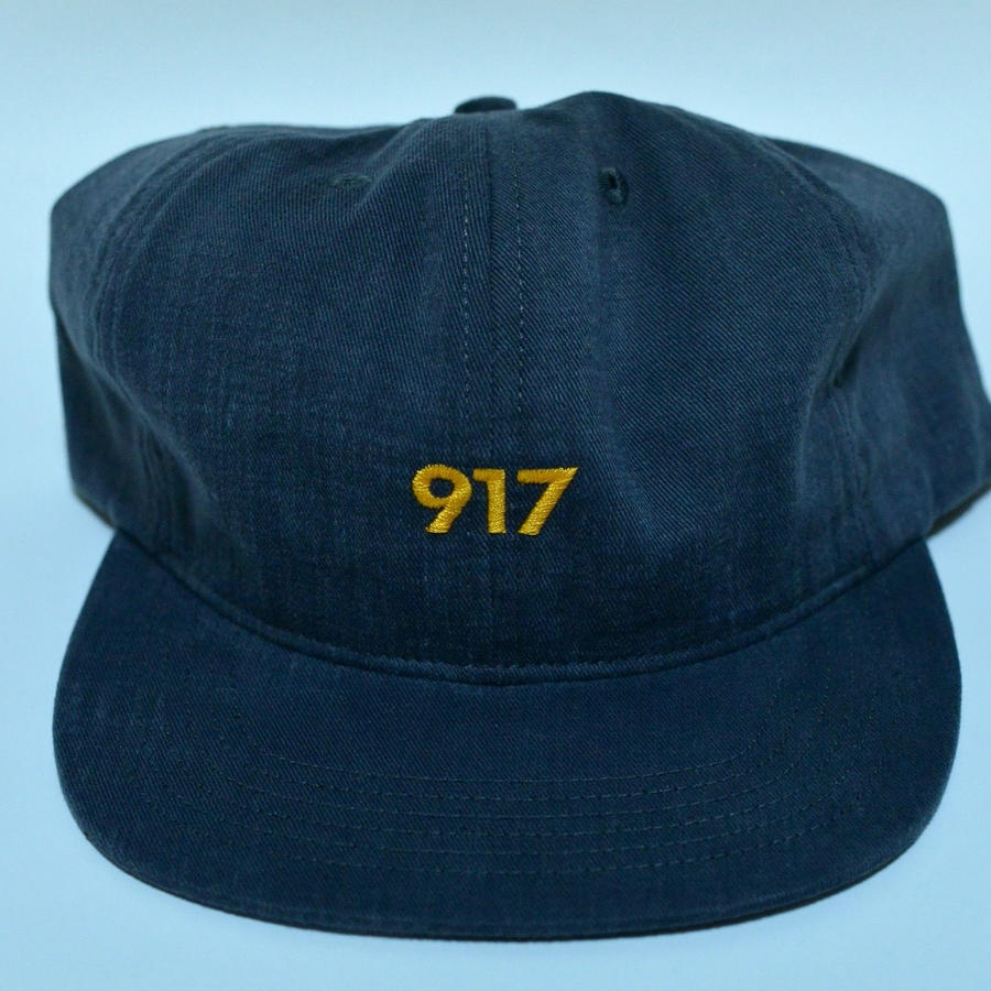 Nine One Seven AREA CODE HAT / Black (Charcoal)