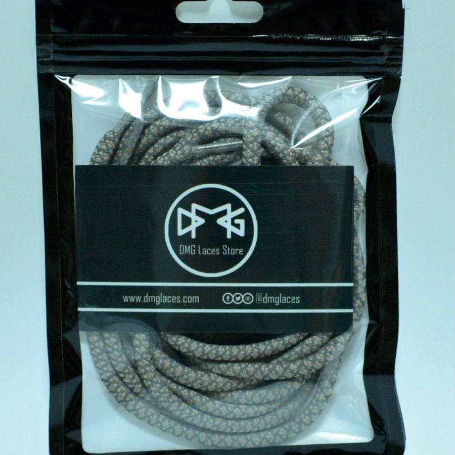 """DMG laces 3M shoe lace """"TAN"""" 120cm"""