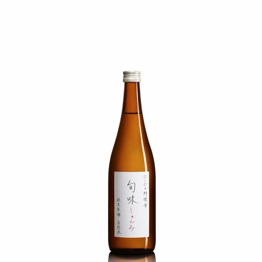 旬味(しゅんみ)純米原酒 720ml