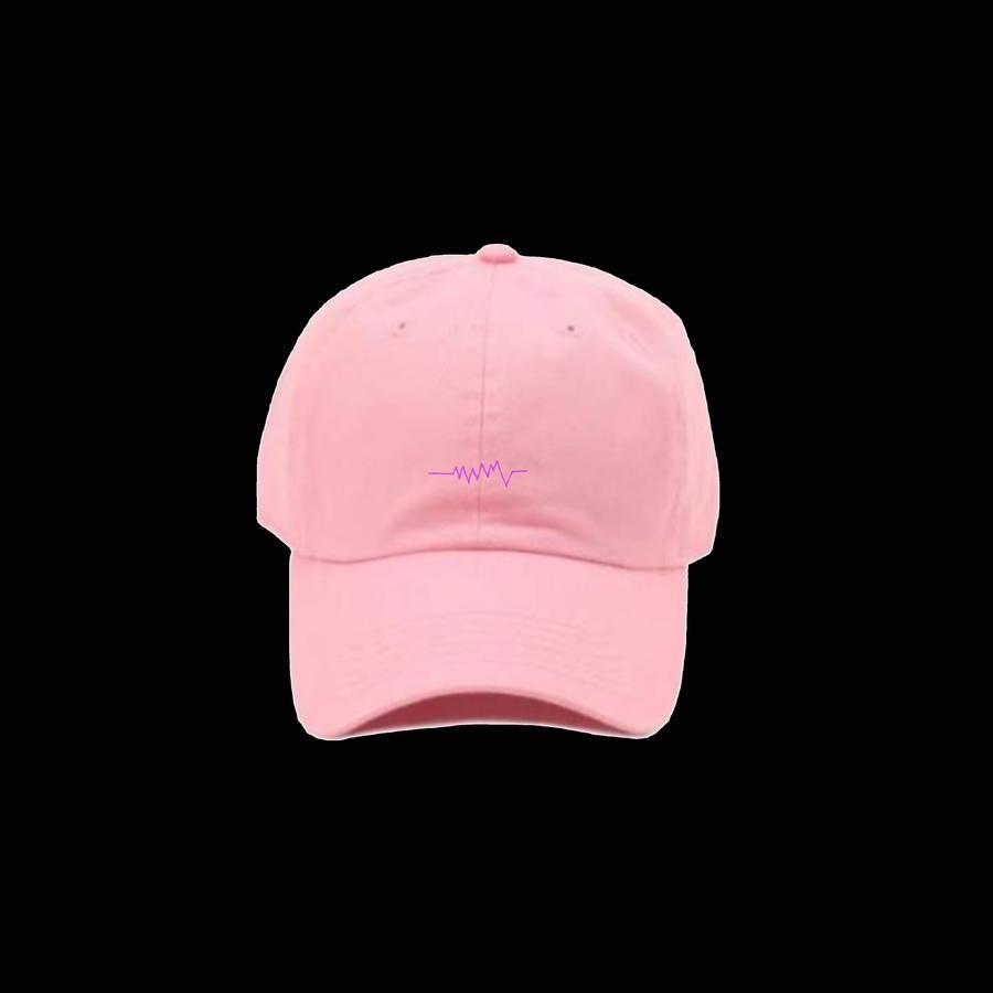 [ 受注生産 ] NEW 声紋キャップ Pink