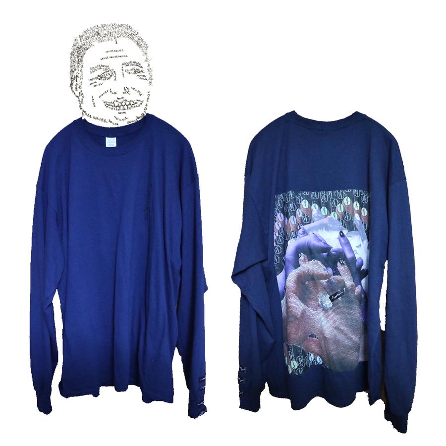 SUSUロングTシャツ / Navy [ limited color of winter season]