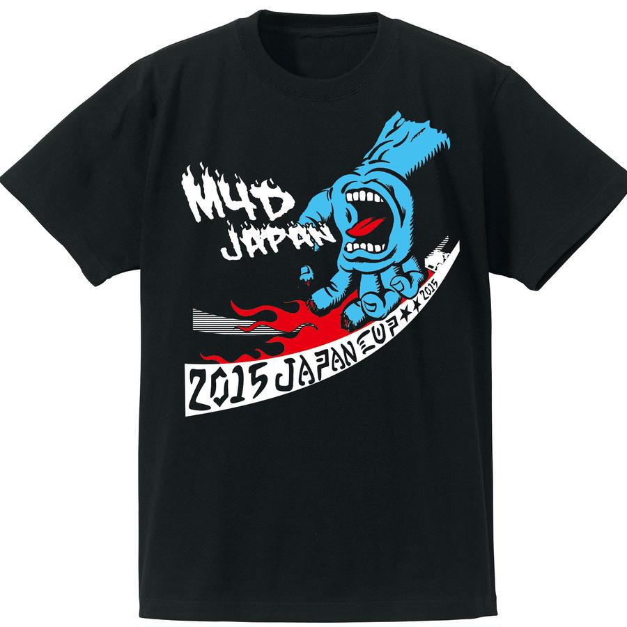 M4D JCTシャツ2015(ブラック-ブルー)