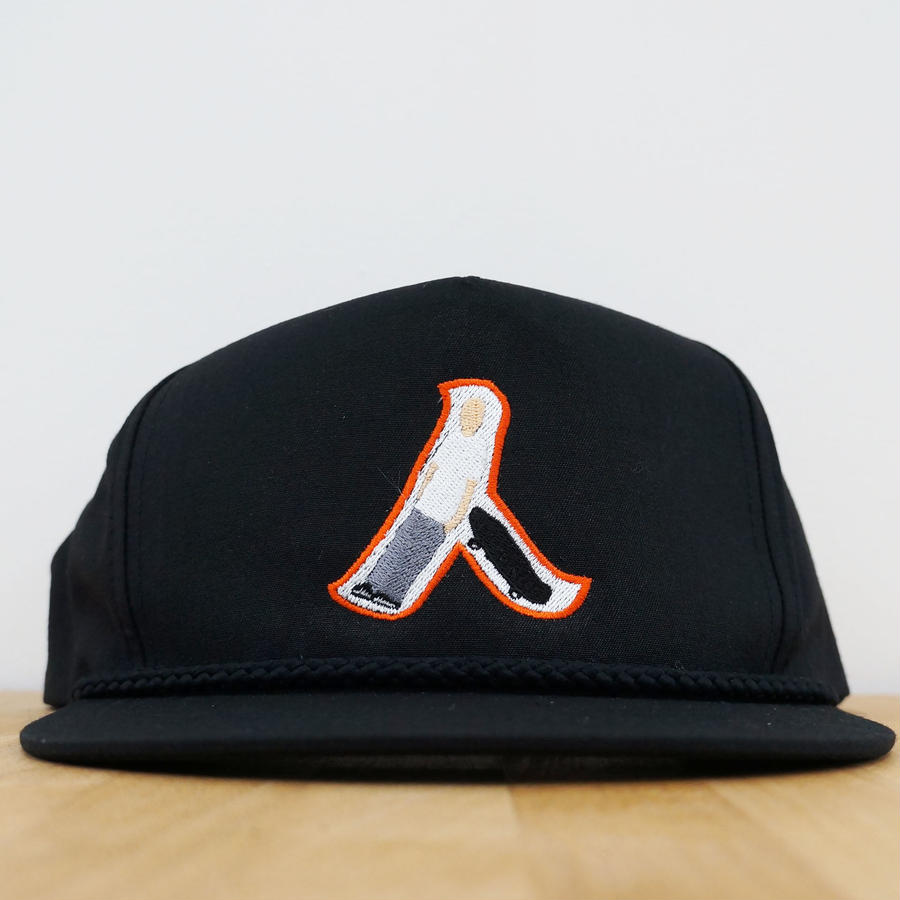 GOLF CAP  人MEN  SanFrancisco ( Black / Orange )