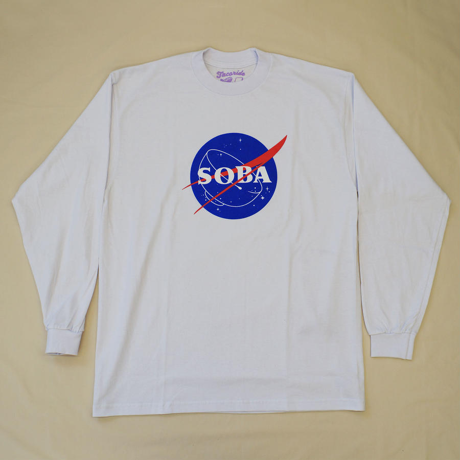 LONG SLEEVE TEE 6.5oz  SOBA(White / Original)