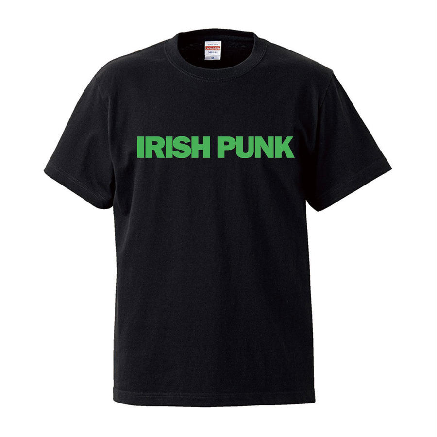 IRISH PUNK S/S Tee BLACK x SHAMROCK GREEN