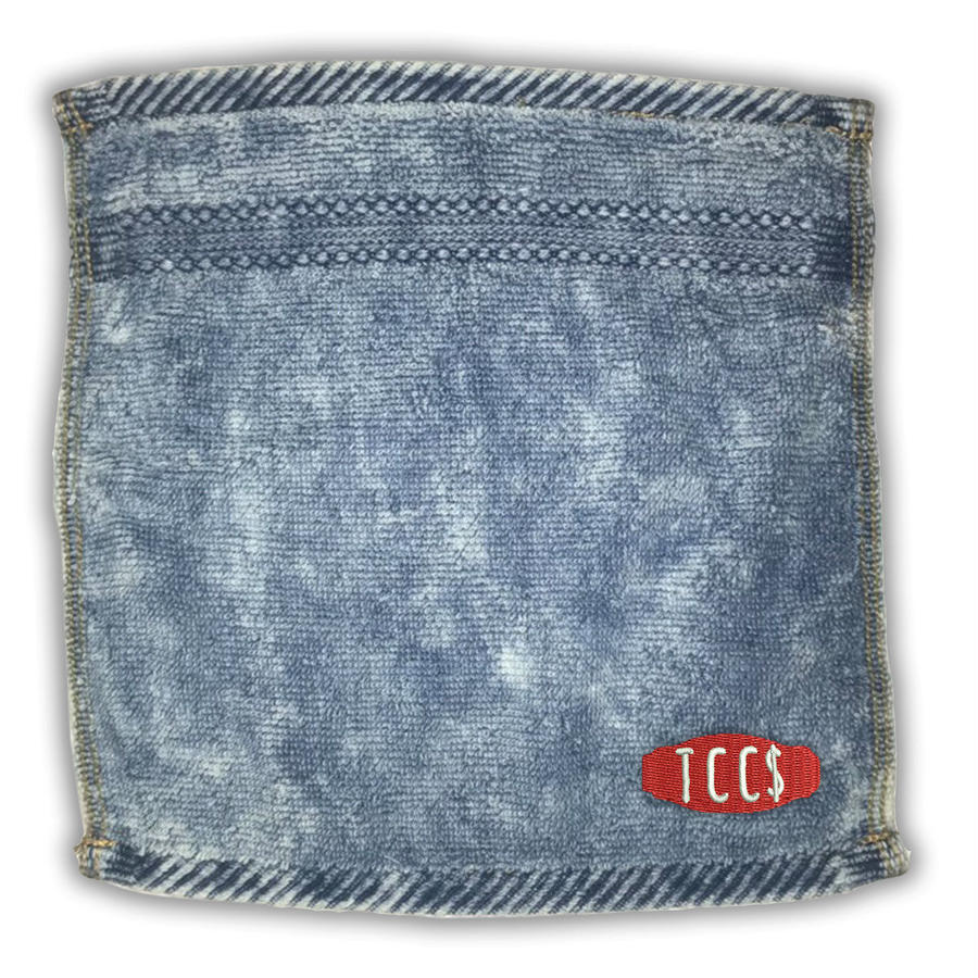 HAND TOWEL - WASH DENIM