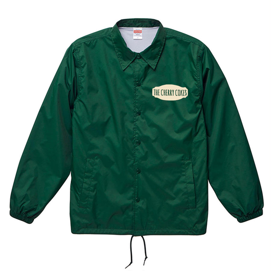 """BRING ME A BEER"" COACH JACKET / IVY GREEN"