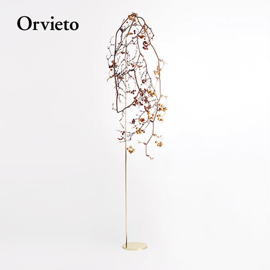 Botanical Hanger  :  Gold - (M) Orvieto