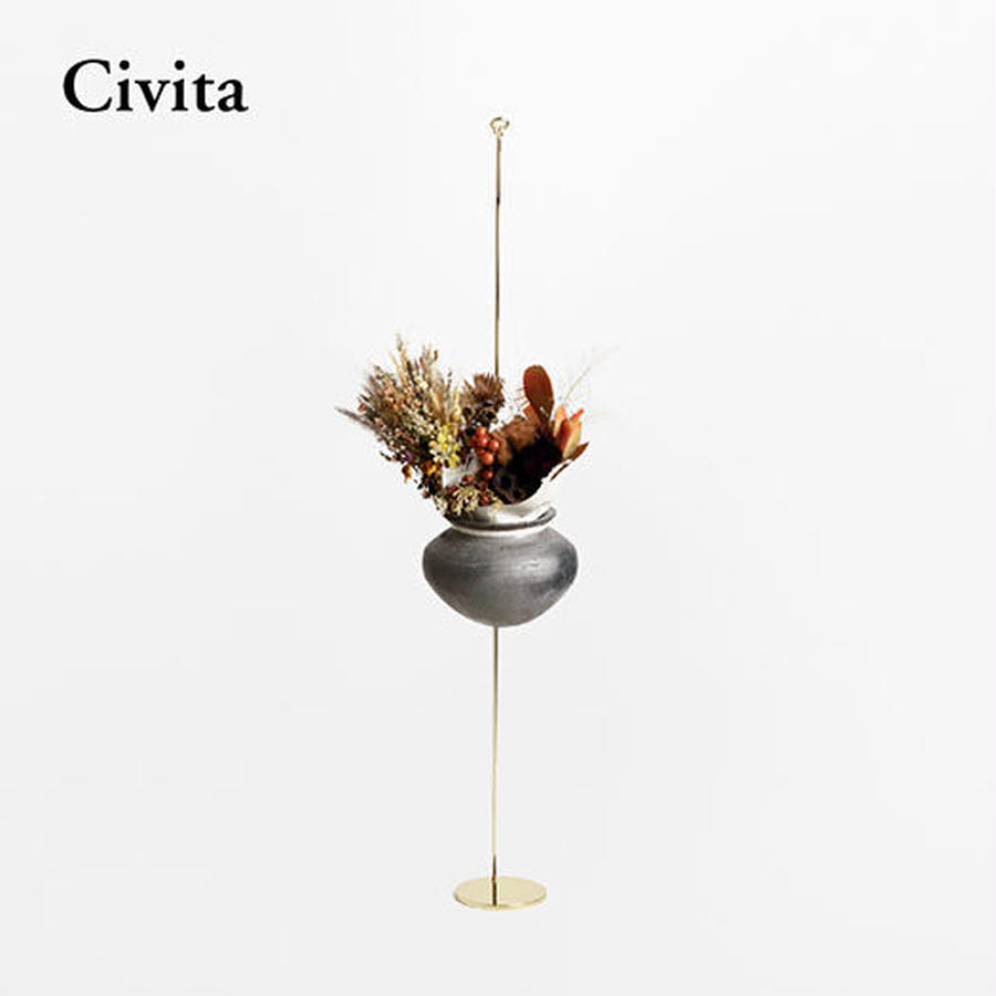 Botanical Hanger  :  Gold - (S) Civita