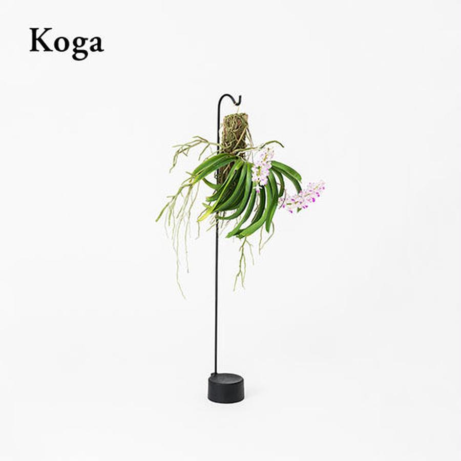 Botanical Hanger  :  Black - (S) Koga