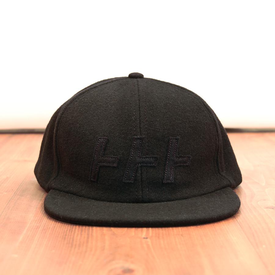 トトト Flannel Cap [BK]