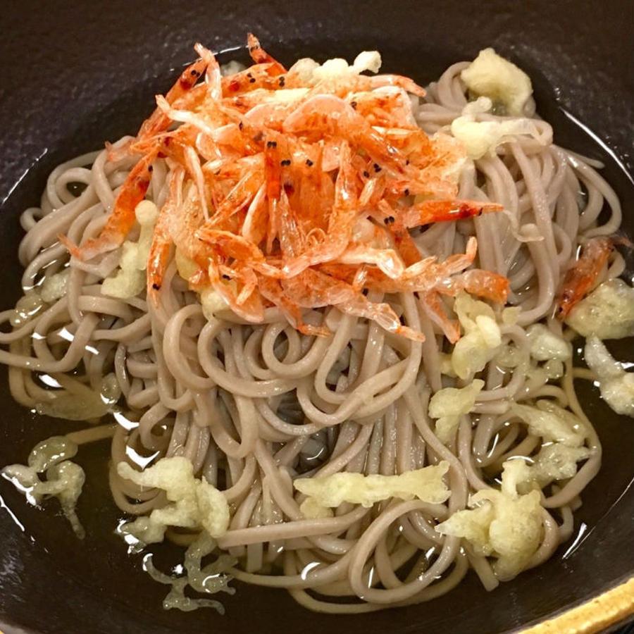 【沼津港直送】赤富士 潮ぶっかけそば 話題の拳流駿河そばより年越し蕎麦を 12月29日発送 熨斗対応いたします。