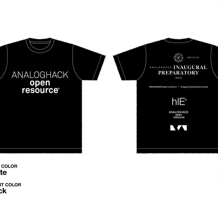 アナログハックOR STAFF T-shirts