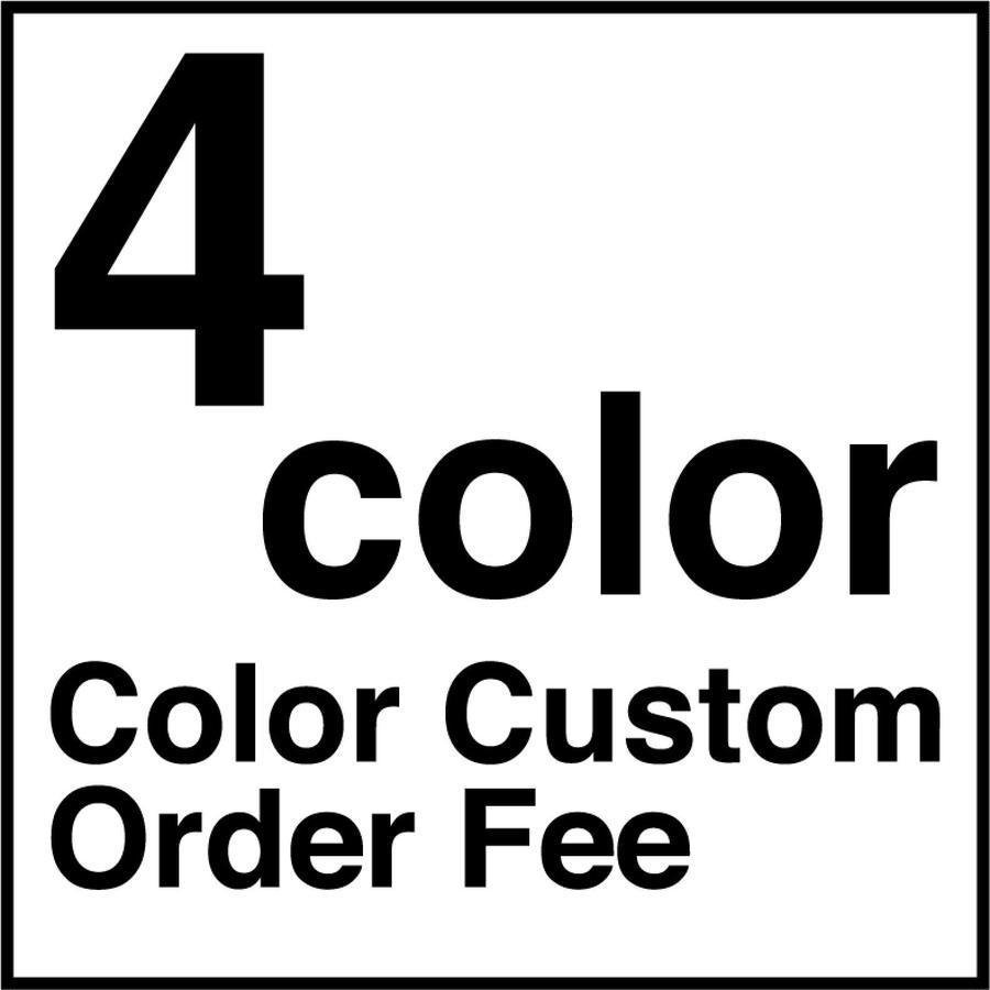 【受注生産品】※ 4色  ※ カラーカスタム代 ※ 4color ※ Color Custom Order Fee