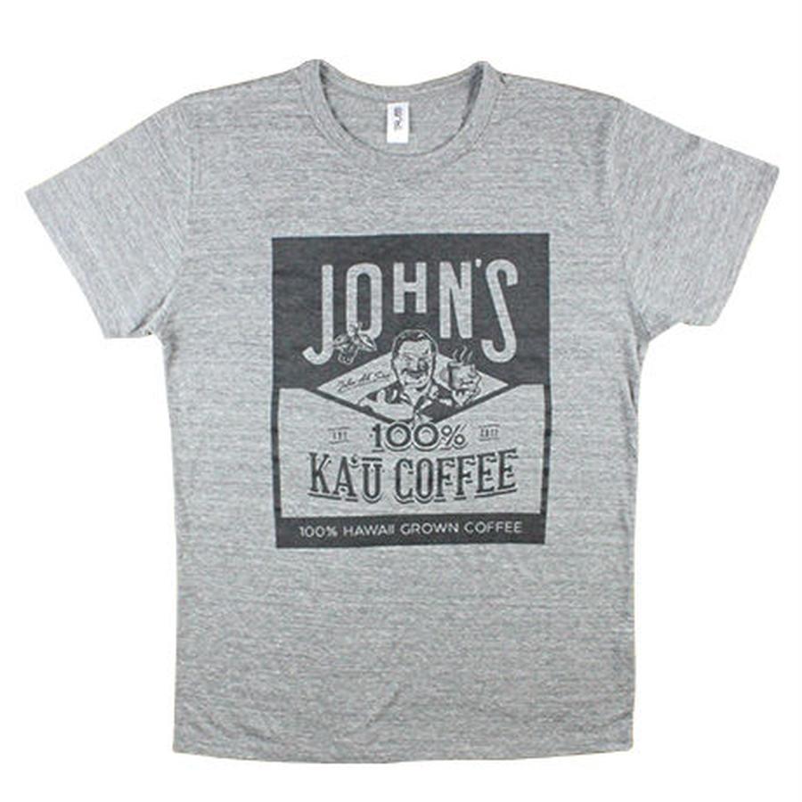 John's Ka'u coffee Tシャツ