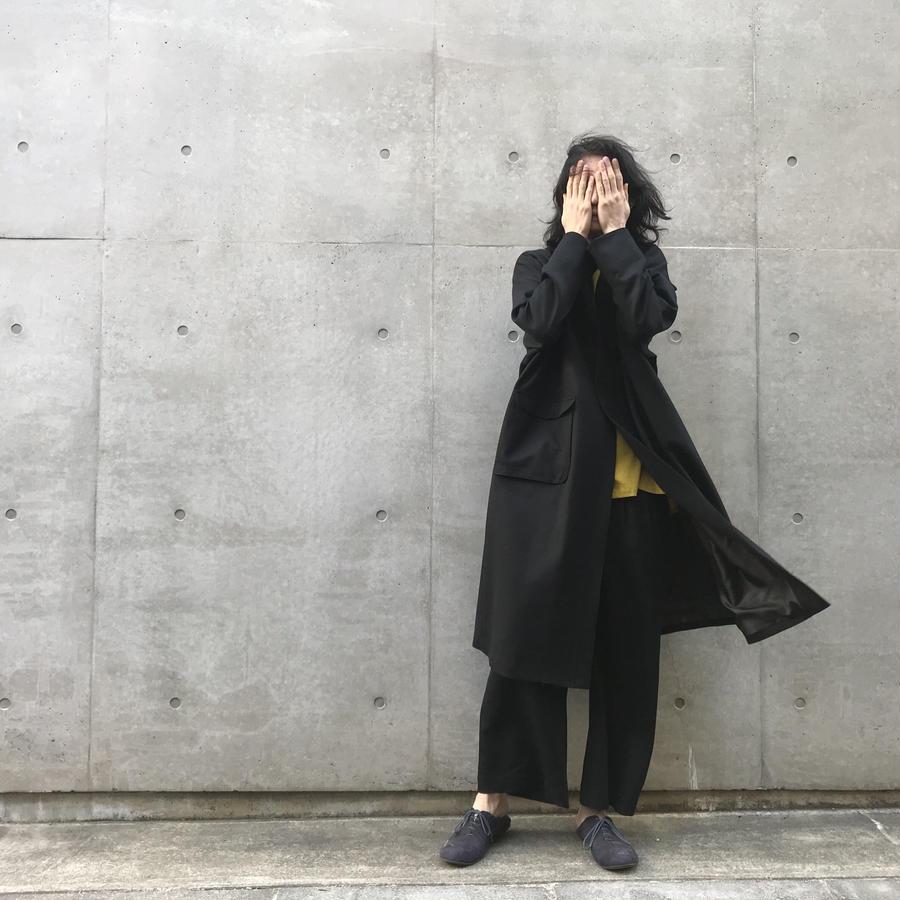 2020 wool coat / size1 - Ka na ta black