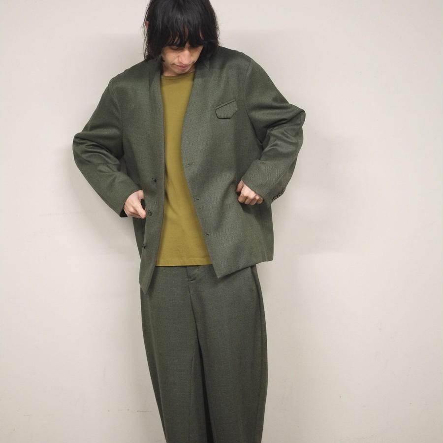12 years jacket / green