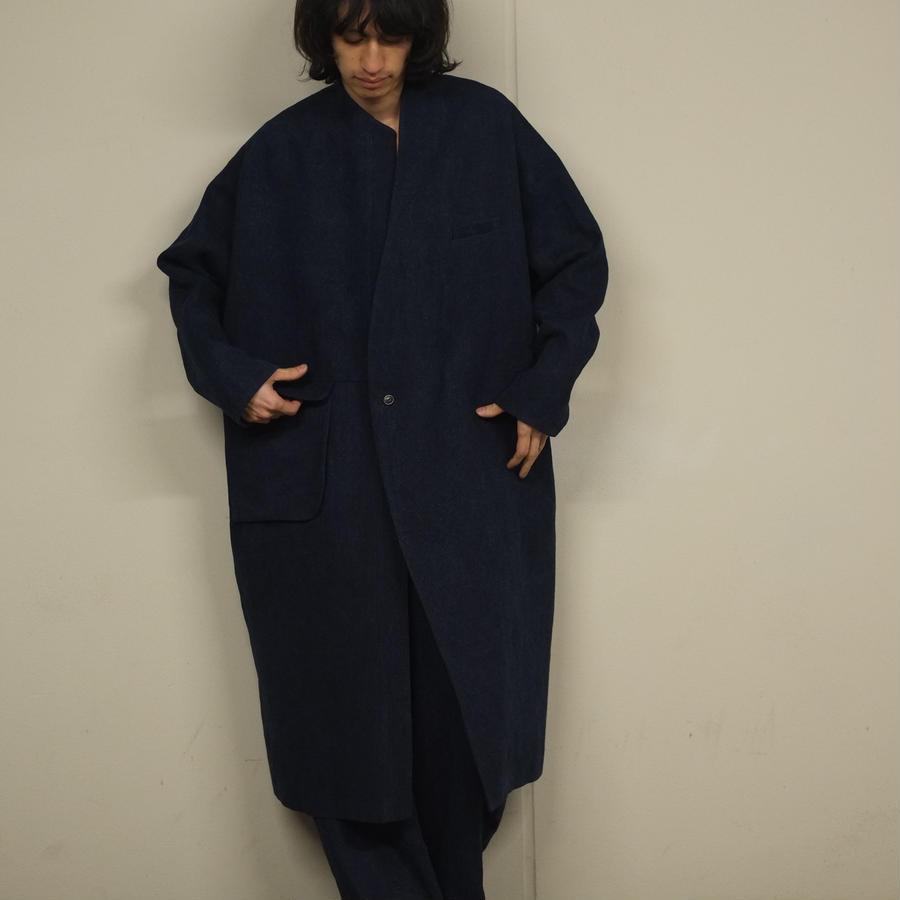 2020 LD coat / indigo