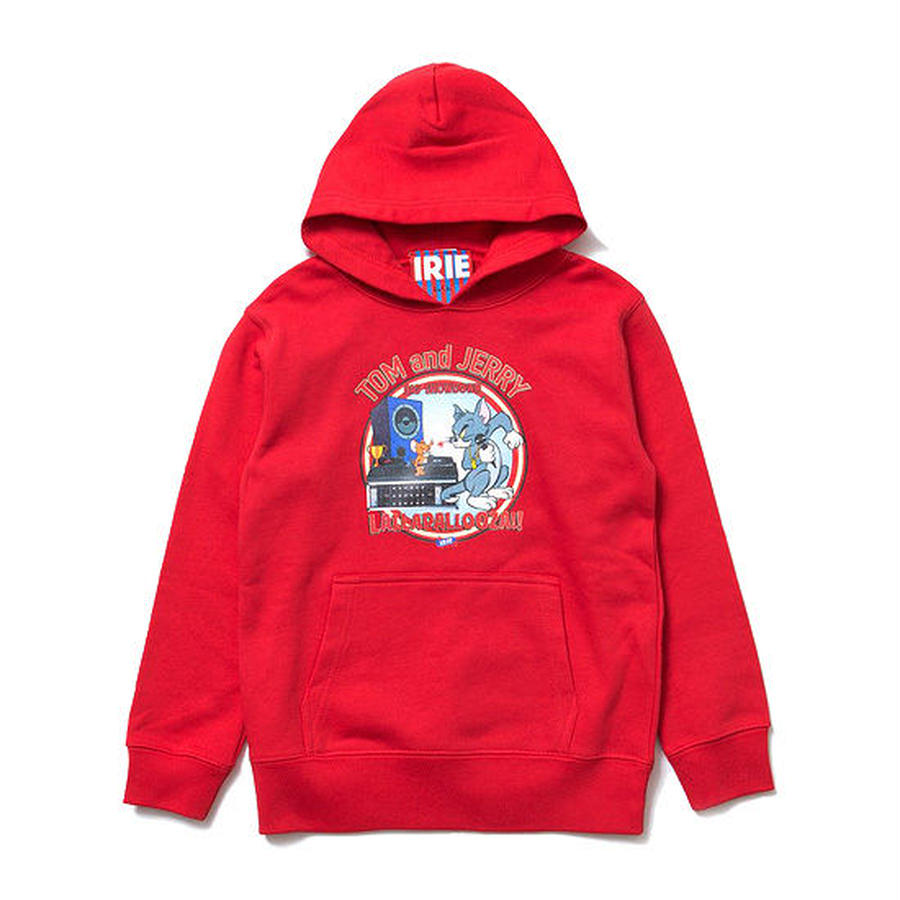 【 IRIE LIFE KID'S / アイリーライフ キッズ】 IRIE LIFE × TOM and JERRY Kids Hoodie